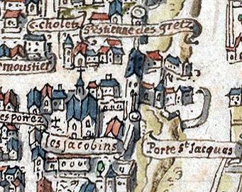 1540c_Paris_plan_de_la_Tapisserie_porte_St-Jacques