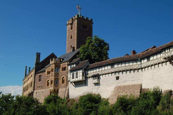 Wartburg Castle Eisenach Luther Thuringia Germany