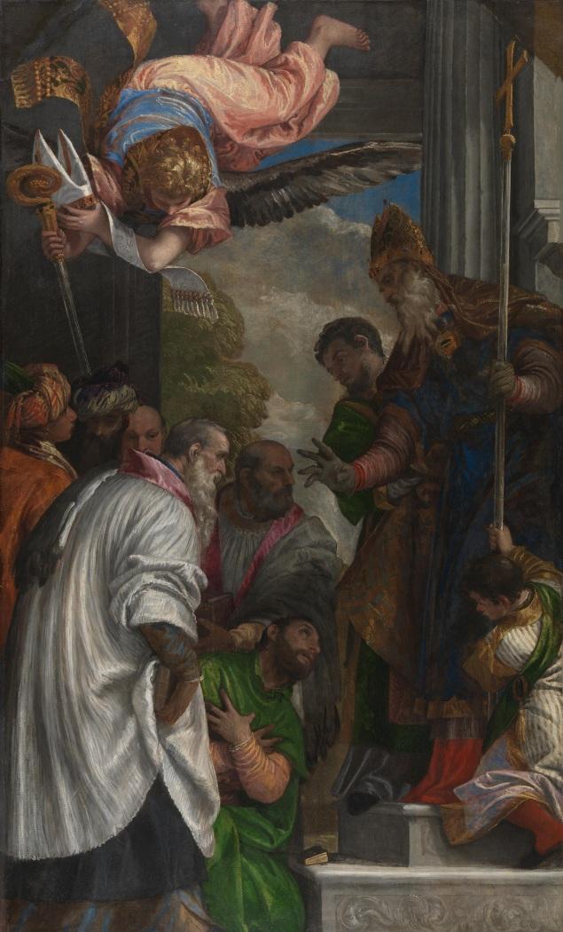 Paolo_Veronese_-_La_consacrazione_di_San_Nicola_(National_Gallery,_London)